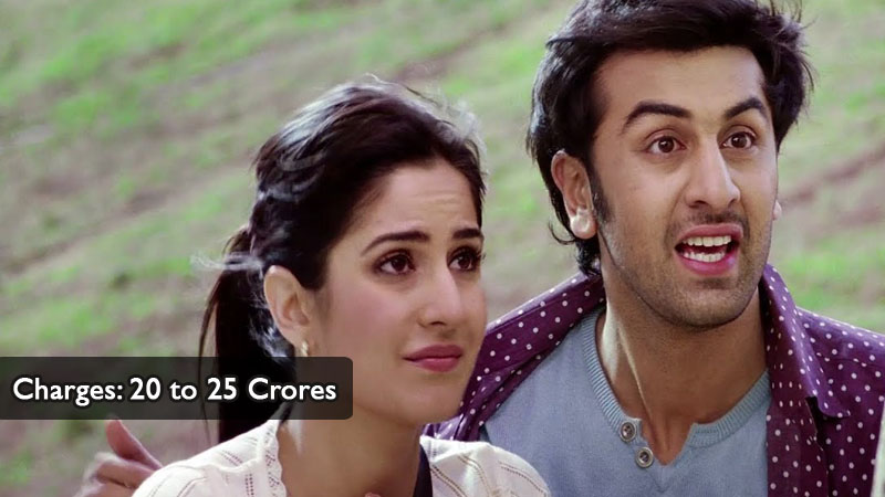 Ranbir Charges 20 to 25 Crores