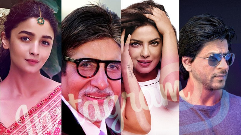 top 10 popular bollywood actors on social media 2020