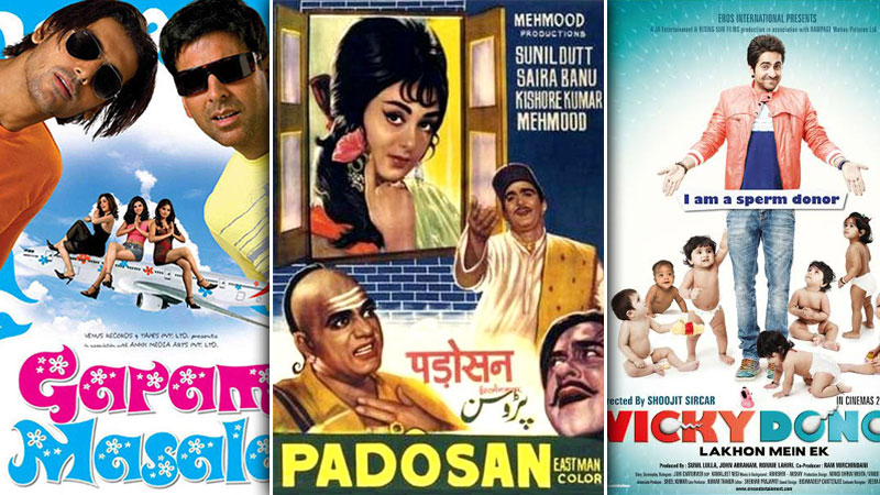 top 13 comedy films of bollywood alltime