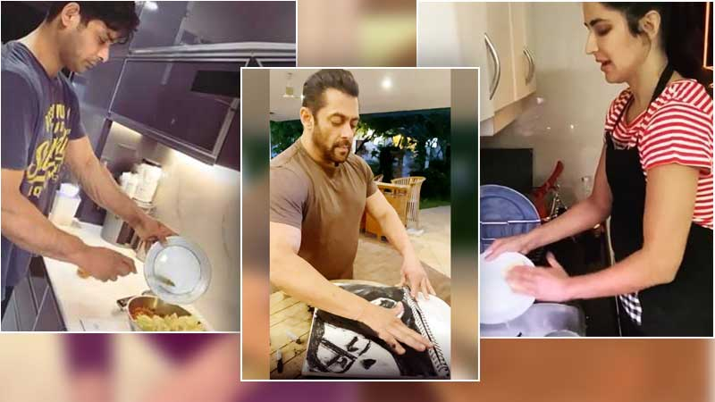 how bollywood celebrities spending self isolation period