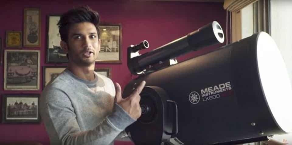 Sushant Singh Rajput takes you to the moon in this video tour of ...