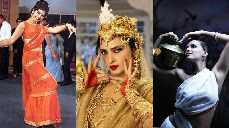 Bollywood actresses looks and costumes